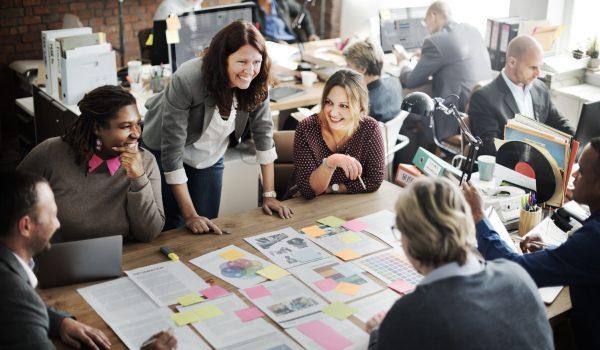Coooperation Corporate Archievement Teamwork Concept